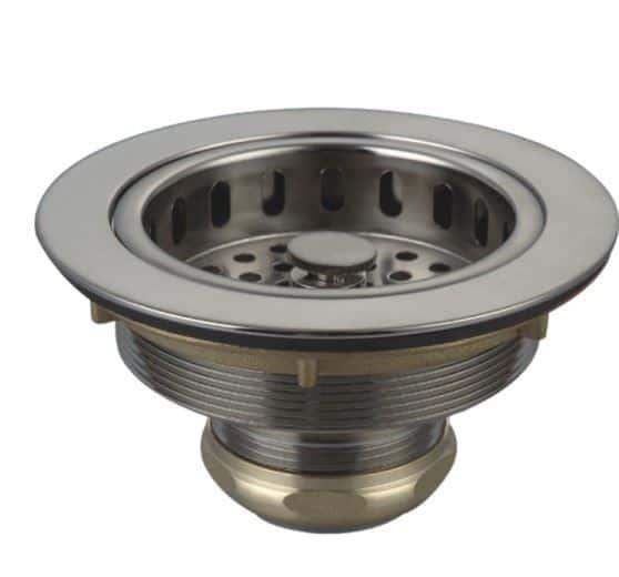 ss sink strainer with brass nut